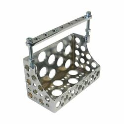 Machine Gun Battery Box For Choppers, Bobbers And Custom Motorcycles Chrome
