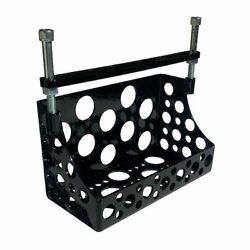 Machine Gun Battery Box For Choppers, Bobbers And Custom Motorcycles Black