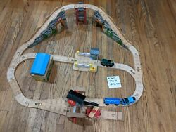 Thomas And Friends Wooden Railway A Busy Day At The Quarry Used 2010