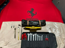 Ferrari Tool Kit And Jack Kit With Bag Pouch 246-308-gts Mondel-v8 Is Oem Part.