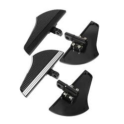 2x Rear Footboard Accessories For Harley Xl Models Male Mount-style