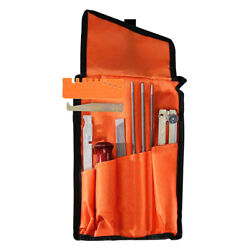 10 Piece Chainsaw Sharpener File Kit With 5/32 Round Files