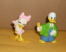 Walt Disney Donald Duck And Daisy Duck Figure 2.5 Collectibles