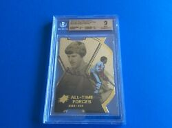 2012 Ud Spx All-time Greats Autos Bobby Orr Die-cut Auto /35 Bgs 9 Mint
