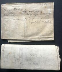 Ireland / 1777 And 1816 Indentures For Grazing Rights And Farm Rental For Land