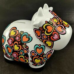 Multiple Choice Cowie Cow Coin Bank Ceramic By Topchoice