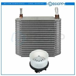 Hvac Blower Motor And Evaporator Core Kit For Gmc Sierra 2500 Hd Front Replacement