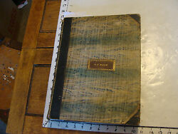 Vintage Book Bound Sheet Music 1830and039s And 1840and039s So Cool Many Military Lithos