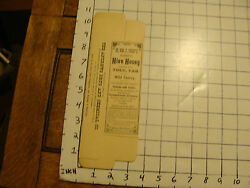 Vintage Original Box For Dr Wm F Sweets Hive Honey Brillion Wis And Attleboro Mass