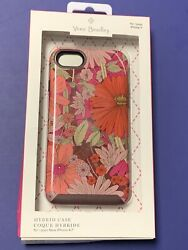 Vera Bradley Hybrid Phone Case For Iphone 7 In Bohemian Blooms Floral 38