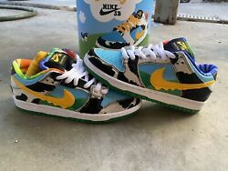 Ds Nike Sb Dunk Low Ben And Jerryand039s Chunky Dunky Friends And Family Fandf Us Size 5.5