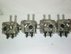 Set Of 4 Rotax 80 Hp 912 Cylinder Heads Complete With Valves Rockers Etc...