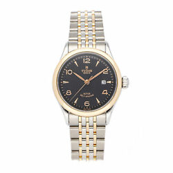 Tudor Glamour Date + Day Auto 39mm Steel Yellow Gold Mens Watch 56003