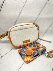 Fossil Crossbody Bag and Wallet Bundle $30.00