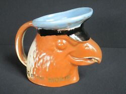 Frankoma Pottery American Airlines Eagle Mug Of The Month Employee Award Htf