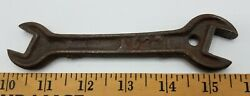 Old Antique John Deere Mansur Planter A523 Plow Tractor Implement Wrench Tool