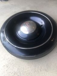 Vintage 1936 Ford Car Or Truck Spare Tire Metal Wheel Cover