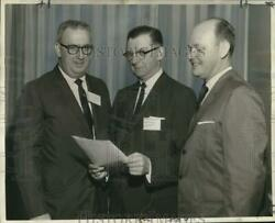 1961 Press Photo Southwest Shippers Advisory Board Leaders At New Orleans Hotel
