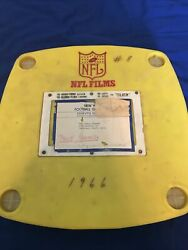 Vintage 1966 Rare Nfl Films New York Giants Highlight No. 1 8 Taped Game