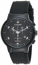 Citizen Menand039s Eco-drive Stainless Steel Japanese-quartz Watch With Polyurethane