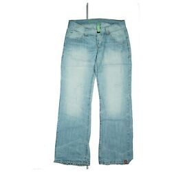 Edc By Esprit Play Ladies Jeans Bootcut Pants Low Waist Size 980.6oz32 Used Look