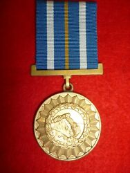 South West Africa Police Swapol Star For Distinguished Service Medal 1981-89