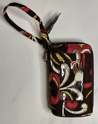 Vera Bradley All in One Puccini Pattern Wristlet ID Wallet Retired $15.00