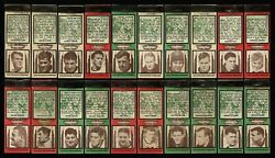1936 Diamond Matchbooks 55 Different Variations Chicago Bears Hall Of Fame 5