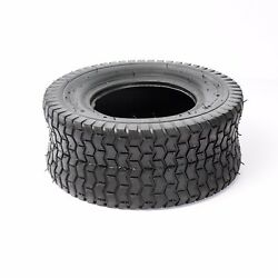 16x650x8 16x6.50x8 16x6.50-8 Turf Tires 4 Ply Tubeless Tractor Rider Mower