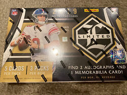 2019 Panini Limited Football Fotl First Off The Line Box - In Hand