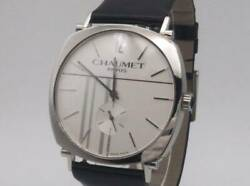 Chaumet 1228-1728 Used Hand-wound Watch Silver From Japan