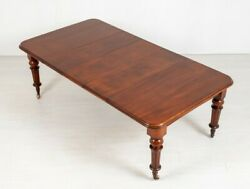 Victorian Dining Table - Antique Mahogany Extending Tables 1870