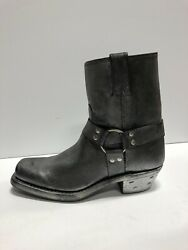 Frye, Harness 8r Black/multi Leather Western Boots, Womens Size Us 9.5m