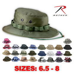 Rothco Tactical Military Camo Bucket Wide Brim Sun Fishing Boonie Hat $12.99