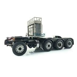 Lesu 88 Metal Chassis Fro 1/14 Scania R620 Rc Tractor Truck W/ Equipment Rack