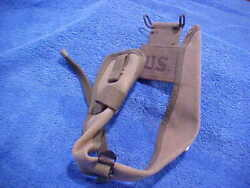 Us Military 1944 Ww2 M1910 Pick Mattock Intrenching Axe Canvas Cover Carrier Mr