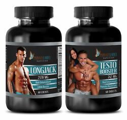 Ginseng Seeds - Longjack And Testosterone 742mg Combo - Testosterone Booster Combo