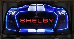 Shelby Gt 500 Grill Neon Sign / Shelby Neon Sign / Shelby Grill Neon Sign Auto