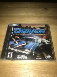 Pc Driver You Are The Wheelman Cd-rom For Windows Infogrames Factory Sealed