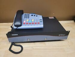 Comrex Stac Pots Phone Talk Management System Mainframe And 6 Line Control Surface