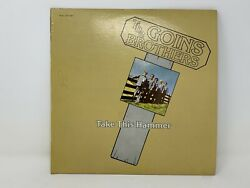 The Goins Brothers – Take This Hammer 1977 Bluegrass Lp Vinyl Rebel Signed