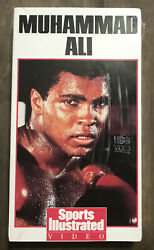 New Sealed Muhammad Ali Hbo Sports Illustrated Subscribers Special Gift 1989 Vhs