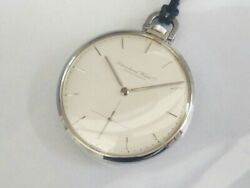 Schau Essen 972 Used Pocket Watch Manual Winding Small Seconds Excellent