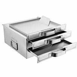 Rice Noodle Roll Steamer With Extra Tray, 304 Food Grade Stainless 2 Tiers