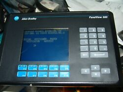 2711-k6c8l1 Ser C Rev D Frn 4.46 Panelview 600 Touchscreen New Other Read