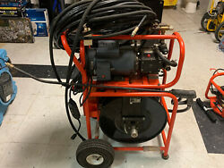 General Pipe Cleaners J-1600 Jet-set 1-1/2 Hp 1500 Psi Electric Drain Cleaner