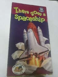 There Goes A Spaceship Vhs Tape 1994 Kid Vision Real Wheels Kids Bottom Open Box
