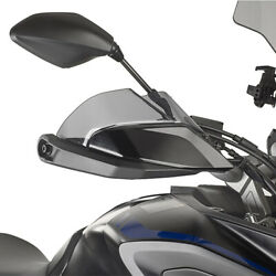 Givi Motorcycle Tinted Wind Deflector From Plexiglas For Yamaha Black New