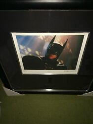 Val Kilmer Senigraph From Batman Forever Extremely Rare Signed And 6 With Coa