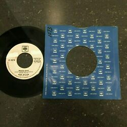 Bob Dylan 45 Rpm Philippines 7 Peggy Day